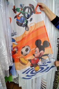 Firany - Myszka Mickey